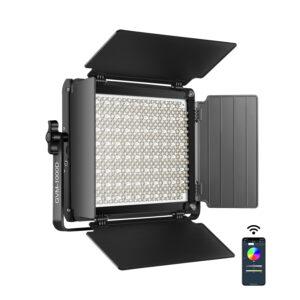 GVM-1000D 45W High Beam Bi-Color & High Power RGB Video Lighting Kit