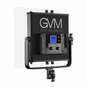 GVM-896S 50W High Beam High Brightness Bi-Color LED VIdeo Soft Light 2-Light-Kit