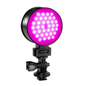 GVM 7SM Mini Double-Sided RGB & LED On-Camera Light