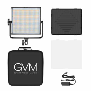GVM-896S 50W High Beam High Brightness Bi-Color LED VIdeo Soft Light