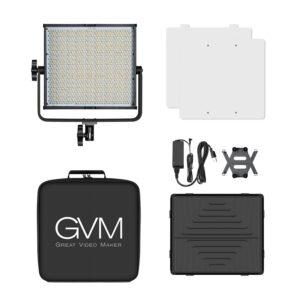 GVM-50RS 50W High Power Floodlight Bi-Color and High Power RGB Video Lighting Kit