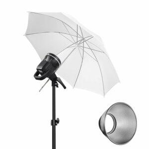 GVM P80S-1 80W High Power LED Spotlight Daylight Kit with Soft Umbrella