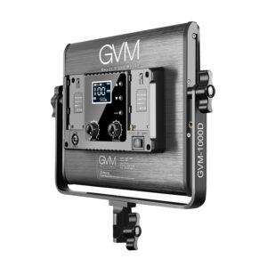 GVM-1000D 45W Bi-Color & RGB 3-Video-Light-Kit