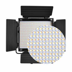 GVM-560AS 30W High Beam Bi-Color LED Video Soft Light 3-Video-Light-Kit