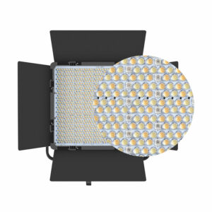 GVM-50RS 50W High Power Floodlight Bi-Color and High Power RGB Video Lighting Kit 3-Light-Kit