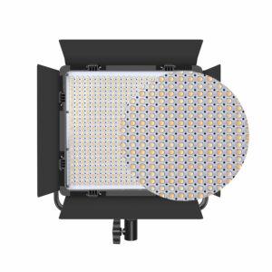 GVM-672S 40W High Beam High Brightness Bi-Color LED VIdeo Soft Light 3-light-kit