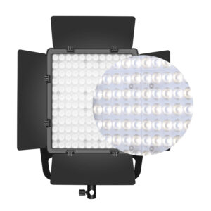 GVM-LT50S 50W High Power Bi-Color Lens Light beads Video Lighting Kit 3-Light-Kit