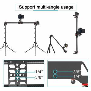 "GVM SLIDER-80 Wireless Professional Carbon Fiber Motorized Camera Slider (32"")"