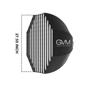 "GVM Softbox for P80S/G100W Series LED Lights (22"")"