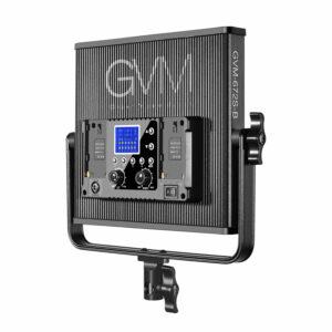 GVM-520S 30W High Beam High Brightness Bi-Color LED VIdeo Soft Light 2-Light-Kit