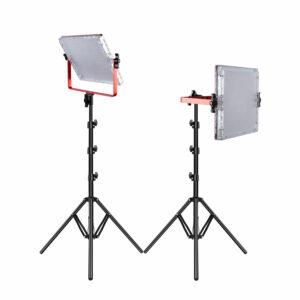 GVM-MB832 50W High Power Soft Light Bi-Color LED Video Soft Light 2-Light-Kit