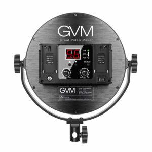 "GVM-Y30D 30W Soft Light Bi-Color LED Key Light (10"")"