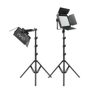 GVM 880RS RGB LED Studio 2-Video-Light-Kit