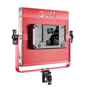 GVM-1200D 50W Bi-Color &RGB 2-Video Light