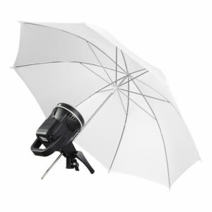 GVM P80S Spotlight 4-Light Kit with Umbrellas, Softboxes, and Backdrops