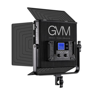 GVM-896S 50W High Beam High Brightness Bi-Color LED VIdeo Soft Light 3-Light-Kit