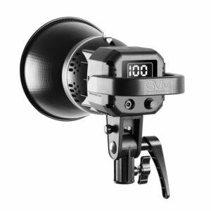 GVM P80S 80W LED Spotlight Daylight Kit