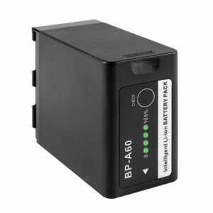 GVM BP-A60 Dual Charger with Battery for Canon C300 Mark II, C200 & C200B (6800mAh)