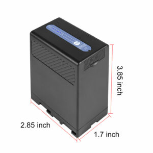 GVM BP-U65 5600mAh Battery with Charger for Sony PMW / PXW Series Cameras