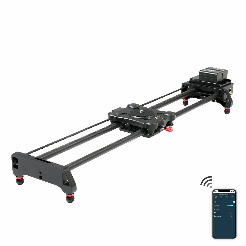 GVM GT-80WD Wireless Carbon Fiber Motorized Camera Slider