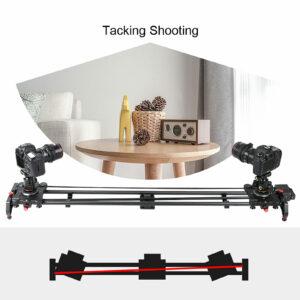 "GVM GR-120QD Professional Video Carbon Fiber Motorized Camera Slider (48"")"