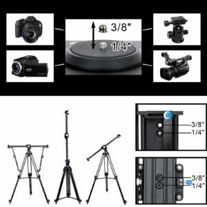 """GVM J80D Aluminum Alloy Motorized Camera Slider (31"""")"""