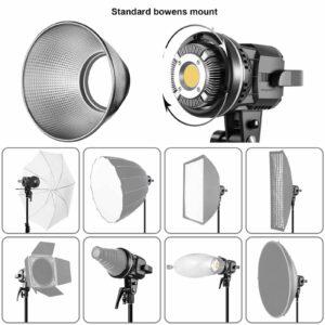 GVM P80S Spotlight Bi-Color Studio LED Video Light 2-Light-Kit