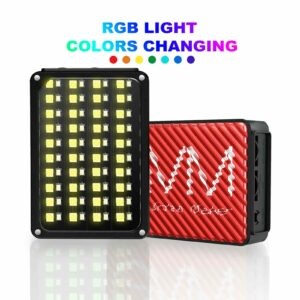 GVM 7S RGB On-Camera Video Light LED Light Panel