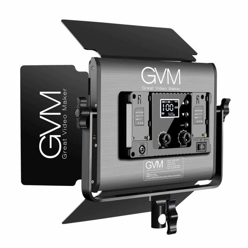 RGB Video Light GVM 1000D 1 3