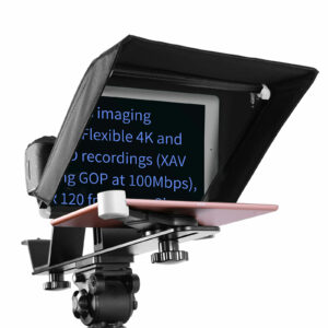 GVM TQ-M Teleprompter for iPad Tablet & Smartphone with Bluetooth APP Control