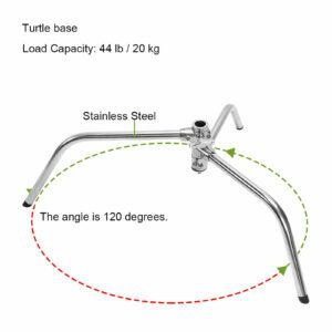 GVM Turtle Base C Stand Grip Arm Kit