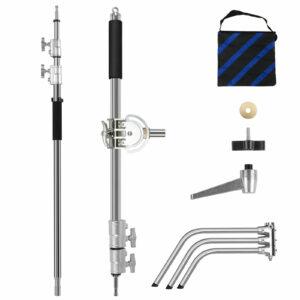 GVM C360 Turtle-Base C-Stand & Grip Arm Kit (10.5')