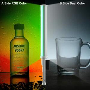 GVM-T20R 20W High Power RGB & Bi-Color Wand Light