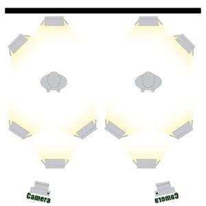 GVM LED-1200 65W Powerful Bi-color Video Panel Light