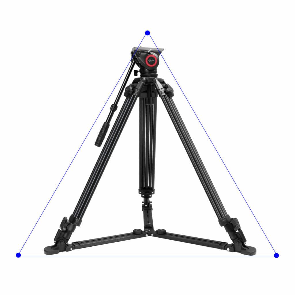 配合三脚地托,实现低角度稳定拍摄