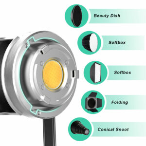 GVM-SD200D 200W High Power LED Spotlight Bi-Color Studio Lighting Kit