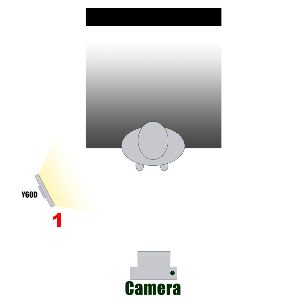 Y60D灯光作为主灯