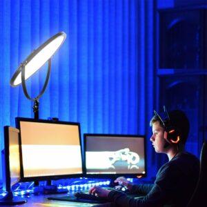 GVM Professional RGB & Bi-Color Lighting Kit 800D RGB Light+Y60D256 Edge Light