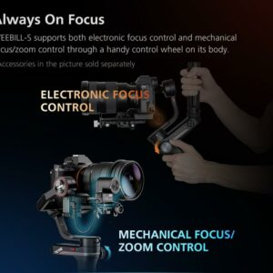 Zhiyun Weebill S Compact Gimbal Stabilizer for DSLR & Mirrorless Camera 3-Axis Handheld Stabilizer