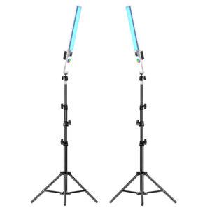 GVM-T20R 20W RGB & Bi-Color Wand Light 2Pcs