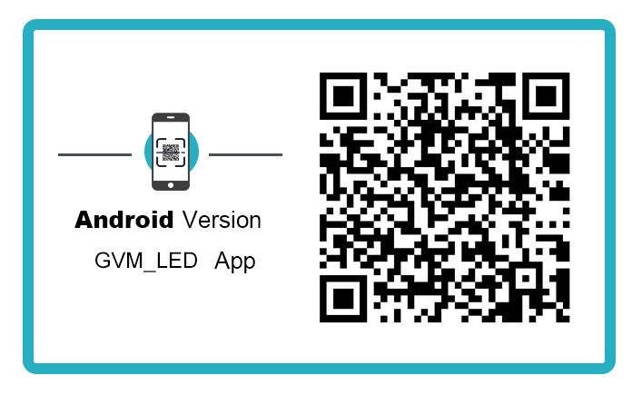 Android Version GVM LED APP gvmLed 1